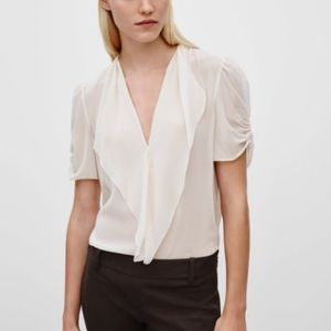 Babaton silk Tinsley blouse XXS